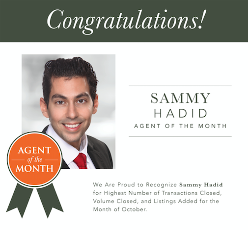Muffley & Associates Real Estate October Agent of the Month