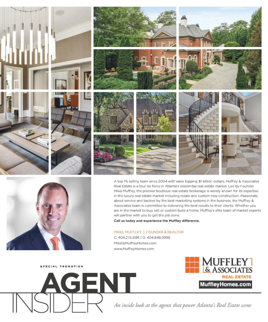 Modern Luxury's Interiors Magazine featuring Muffley & Associates' Custom Dream Home Program and Top Agents