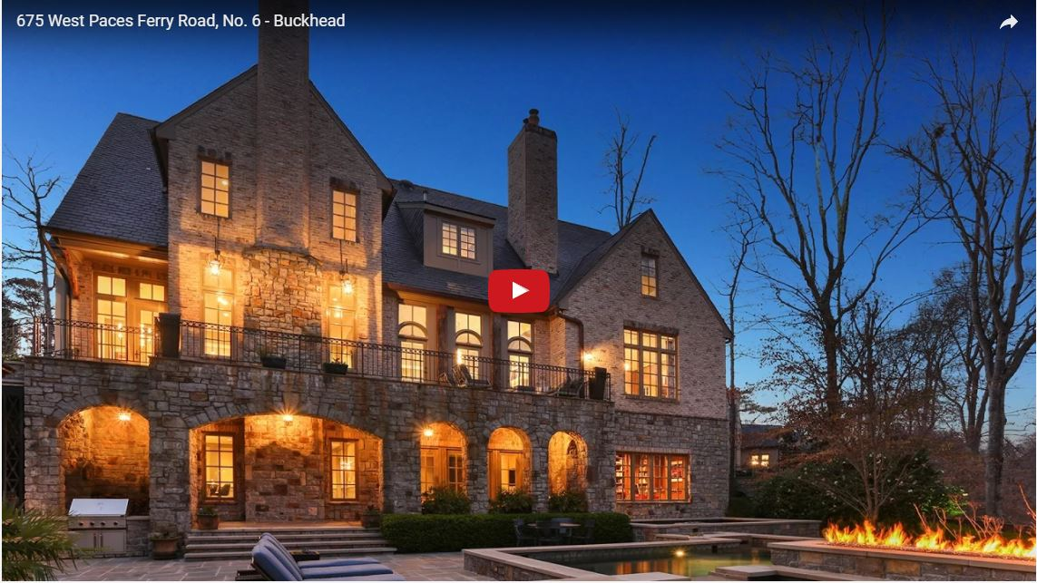 675 West Paces Ferry Road, No. 6, Buckhead mansion for sale
