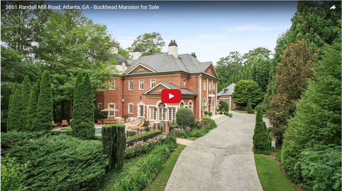 3861 Randall Mill Road, Buckhead mansion for sale