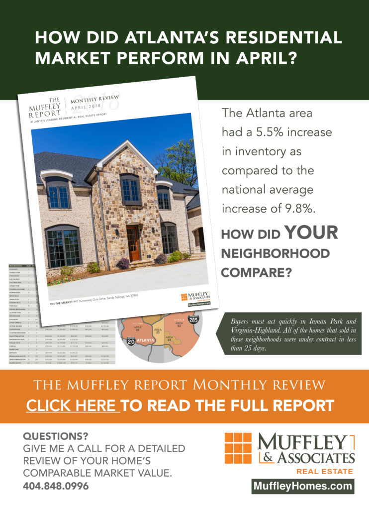The Muffley Report, Atlanta's Leading Residential Real Estate Report
